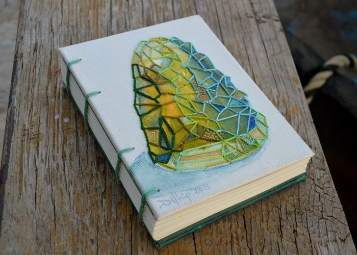 green gemstone journal