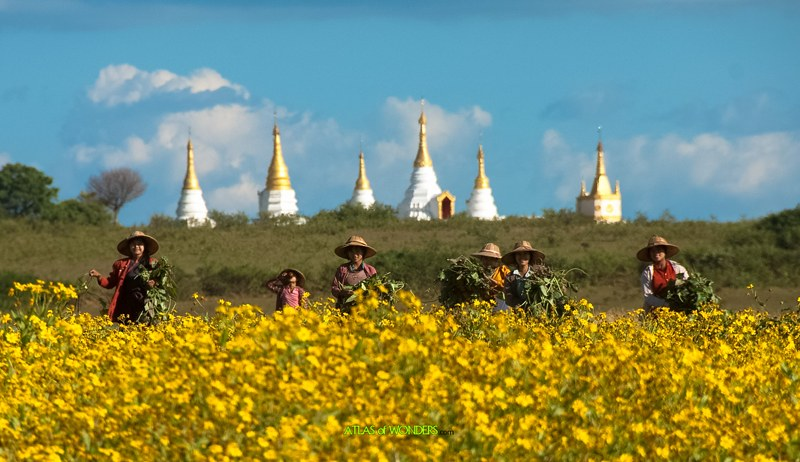 Places to go in Burma