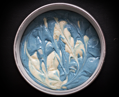 Breaking Bad Cake - Swirled