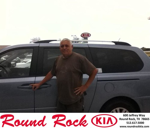 Thank you to Raul Roynal on the 2014 Kia Sedona from Timmy Wiles and everyone at Round Rock Kia! by RoundRockKia