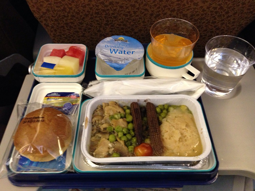 Terrible Inflight Meal between SIN and CGK