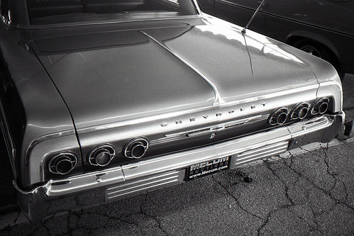 64 Chevy tail