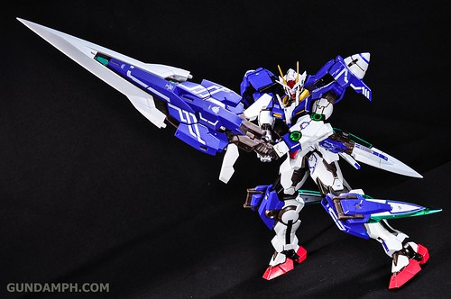 Metal Build 00 Gundam 7 Sword and MB 0 Raiser Review Unboxing (71)