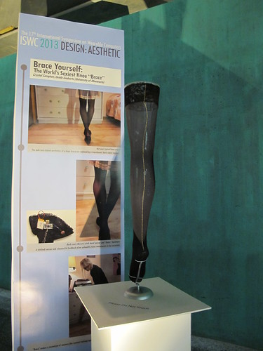 "Brace Yourself – The World's Sexiest Knee ""Brace"""