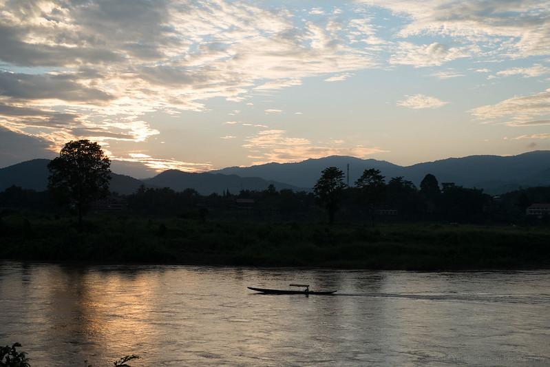 Huay Xai, border town in Laos