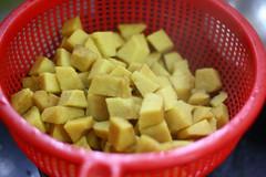 Yam par boiled