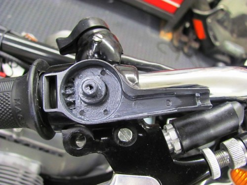 Throttle Housing & Twist Grip with Moly 60 Lubrication