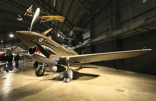Curtiss P-40E Warhawk photo copyright Jen Baker/Liberty Images; all rights reserved. Pinning to this page is okay.