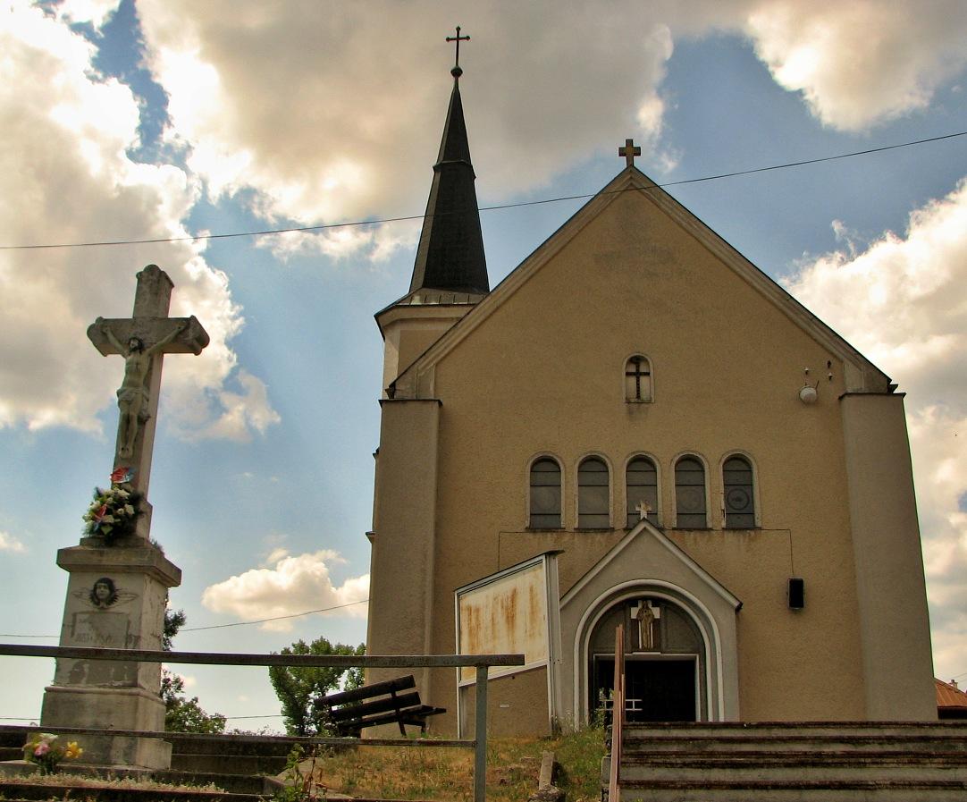 Kostol sv. Martina - čelný pohľad