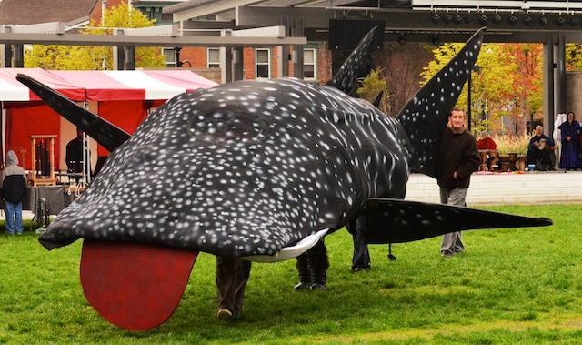 Whale Shark Puppet 2