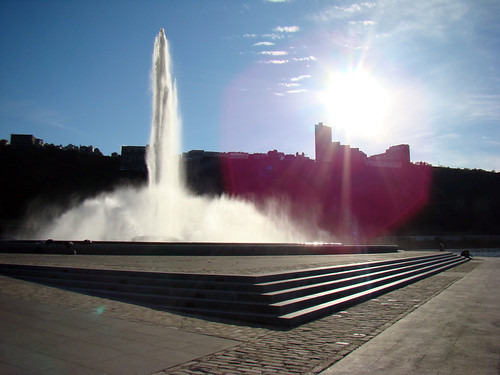 Point State Park Fountain - Oct. 21st 2013