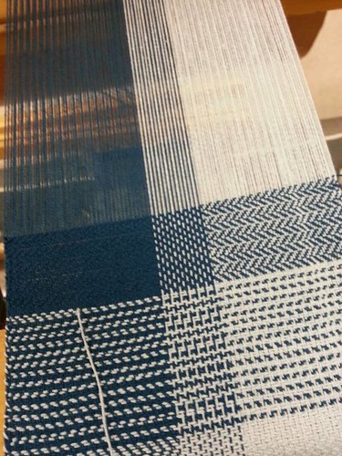 Weaving Twill cotton sampler