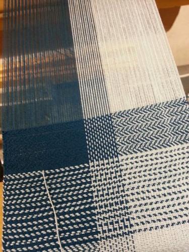Weaving Twill cotton sampler