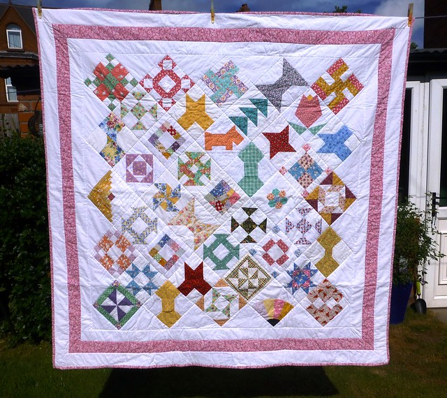 Bee Blessed Sampler Quilt