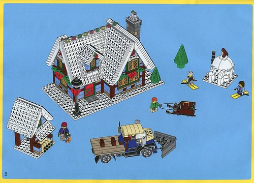LEGO 10229 Winter Village Cottage ins04