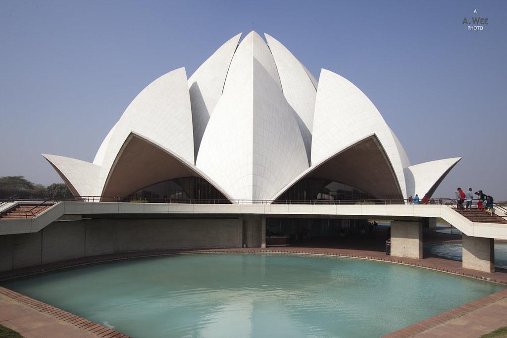 Lotus Temple in Delhi, India