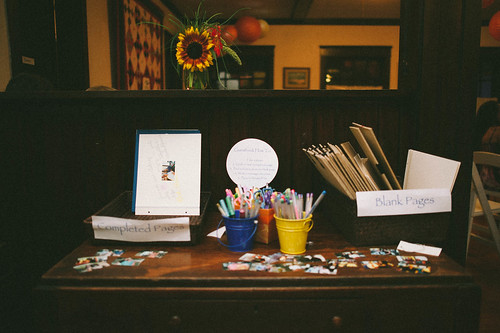 Interactive guestbook