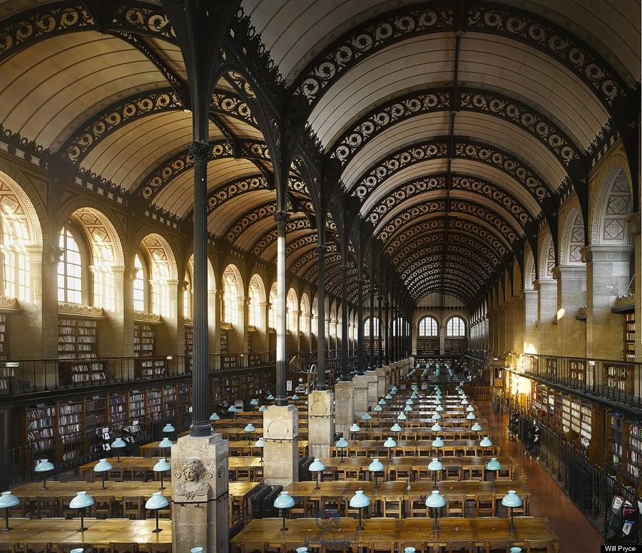 Bibliothèque Sainte- Geneviève, Paris
