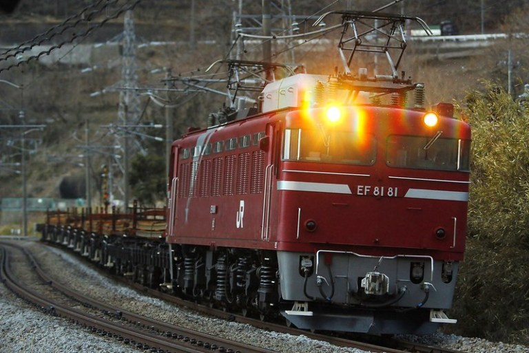 工9775レ 新津工臨(EF81-81牽引)
