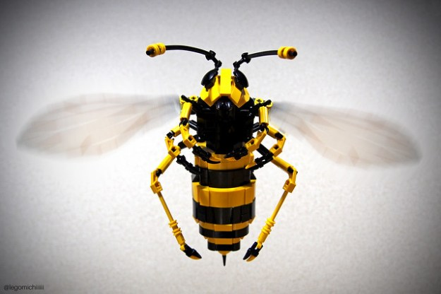 LEGO Hornet Macro Insect