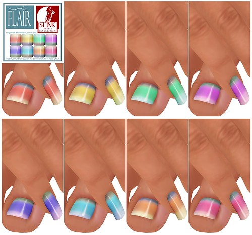 Flair - Nails Set 66