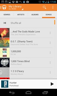 Playlists and shuffling with Google Play Music | Mindshoot