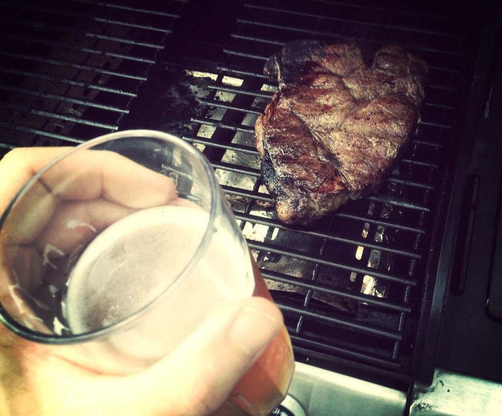 You deserve a steak today