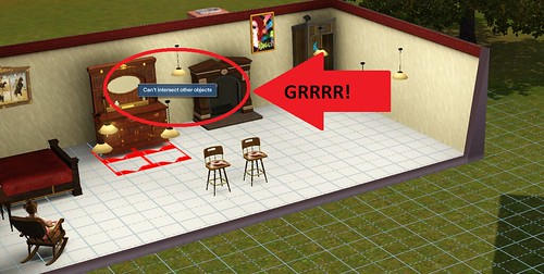 How To Lift Objects In Sims  Build Mode