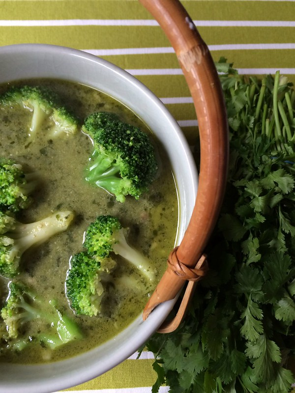 Spooky Green Thai Curry