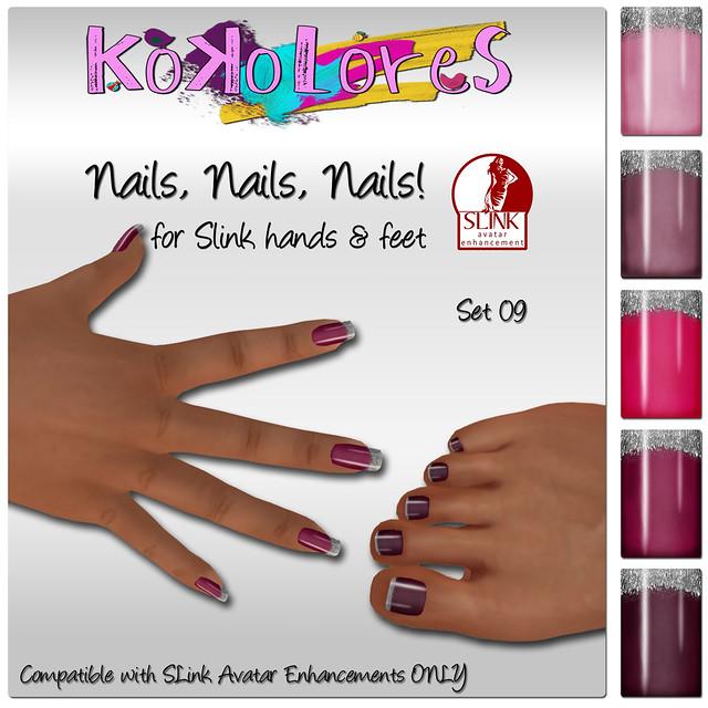 [KoKoLoReS] Nails, Nails, Nails! Set 09