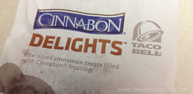 Taco Bell Cinnabon Delights