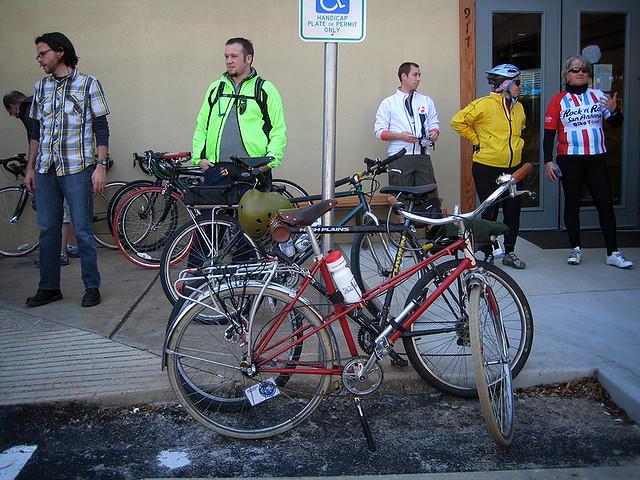 Extended Bike Rack