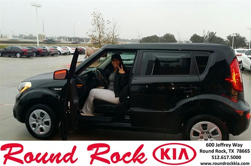 Thank you to Reaven Carter on your new 2012 #Kia #Soul from Roberto Nieto and everyone at Round Rock Kia! #NewCarSmell by RoundRockKia