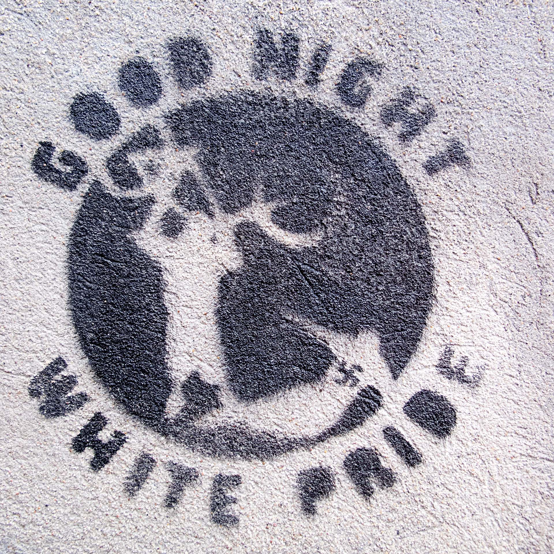 Good Night - Stencil