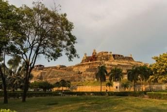 Eenmaal terug in Cartagena gingen we het Castillo San Felipe, waar ik de vorige jaarwisseling nog een dansje maakte, bezichtigen.