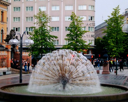 Oslo fountain by SpatzMe