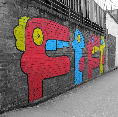 Thierry Noir, Peckham Rye - May 2013