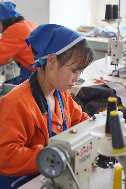Rason Garment Factory North Korea