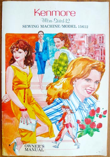 sewing manual Kenmore Ultrastitch 12