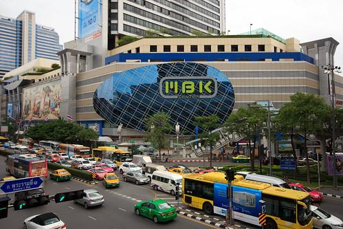 Siam Square - Traffic