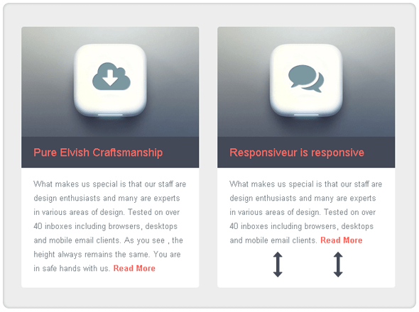 Responsiveur Responsive Email Newsletter Templates - 10