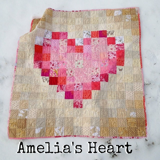 Heart Quilt Title Page