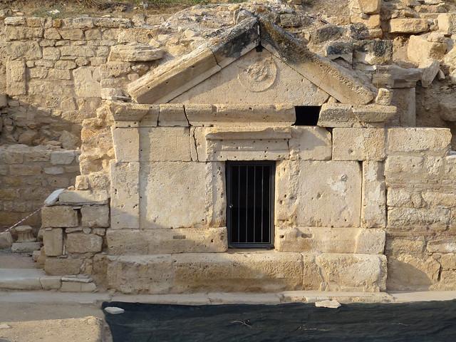 Turquie - jour 12 - De Kas à Pamukkale - 186 - Tombe de l'apôtre Philippe