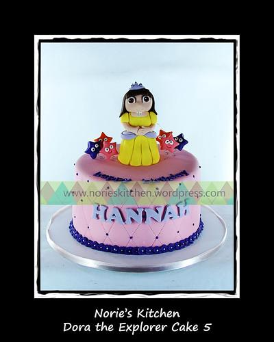 Norie's Kitchen - Dora the Explorer Princess Cake by Norie's Kitchen