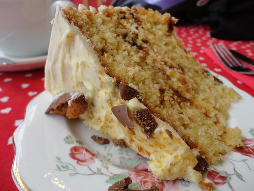 Crunchie cake by South Downs MTB Skills