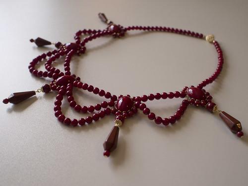 Regency Coral Necklace