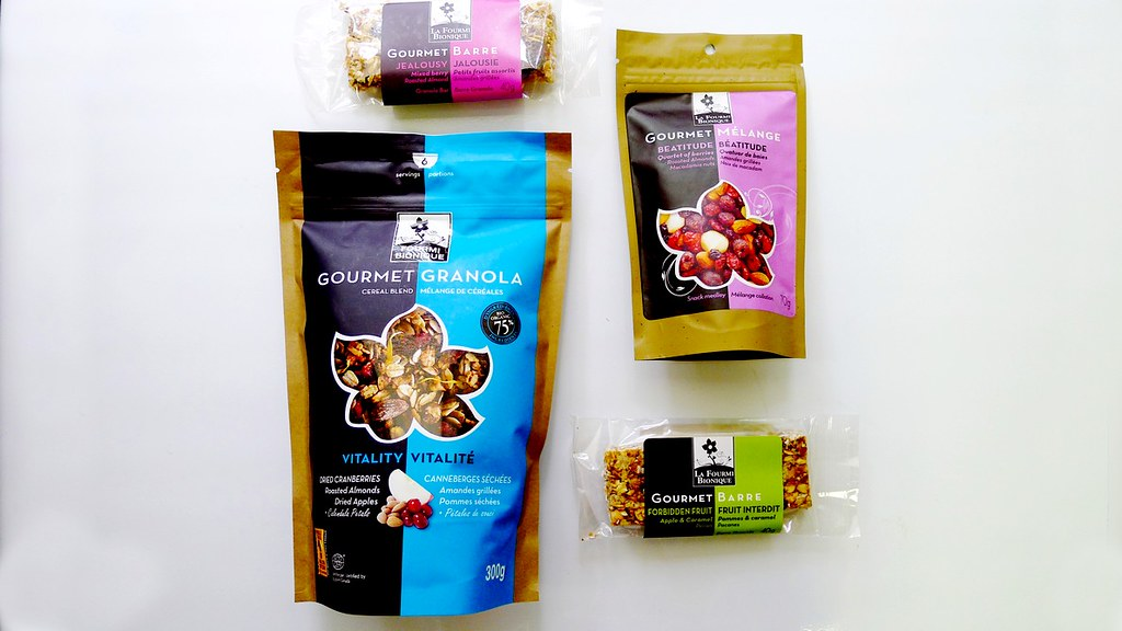 La Fourmi Bionique Monreal Granola Healthy Snacks