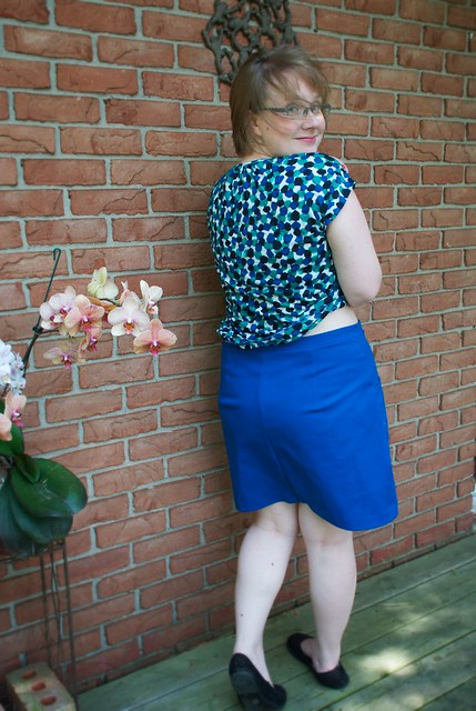 Sewing Cake Hummingbird Skirt