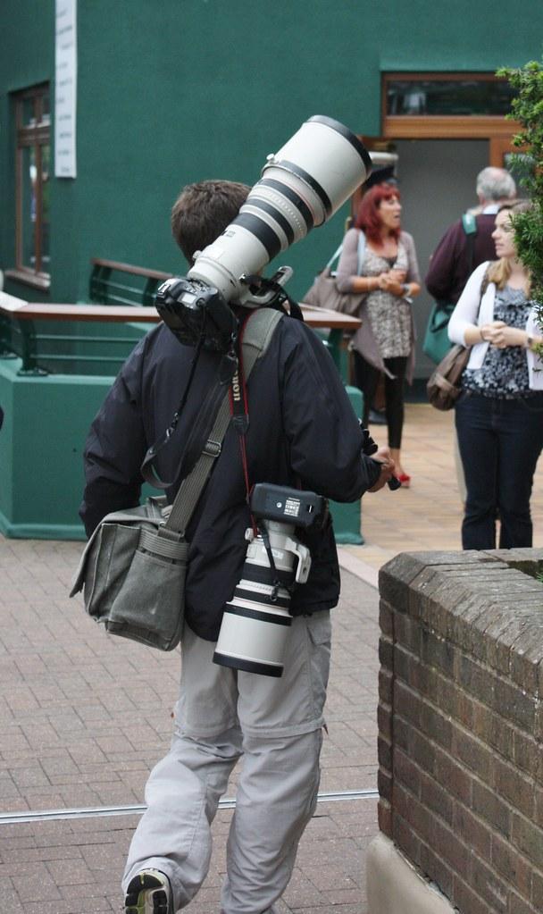 Wimbledon Cameraman