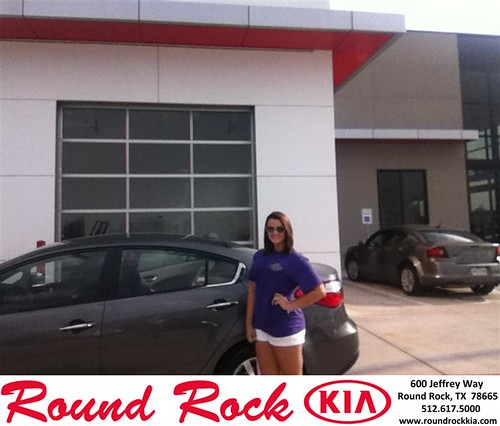 Thank you to Susan Left Ridge  on your new 2014 Kia Forte from Timmy Wiles and everyone at Round Rock Kia! by RoundRockKia